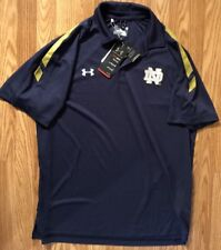 Notre Dame Under Armour Polo On-field Collection New Size Xl