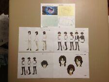 Mobile Suits Gundam 00 Color Settei Sheets