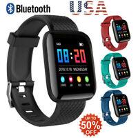 Bluetooth 4.2 Smart Watch Heart Rate Oxygen Blood Pressure Sport Fitness Tracker