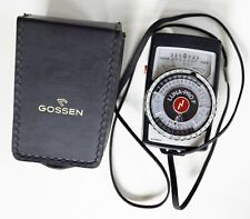 Gossen Luna-Pro F - light meter -  Analog Incident, Reflected and Flash