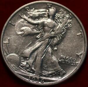 1936-S San Francisco Mint Silver Walking Liberty Half