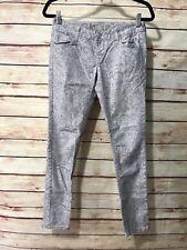 AMERICAN RAG Pants Crinkle Textured PALE MAUVE COMBO Split Leg Harem MSRP $44.50
