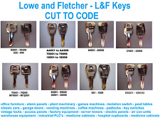Replacement Lowe and Fletcher keys Cut to Code - Replacement L&F keys