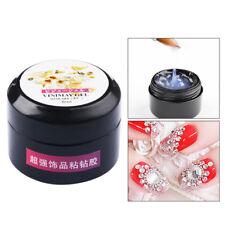Nail Adhesive Glue Nails Art Metal Tips Decor Sticker Gel Acces DIY Tools Supply