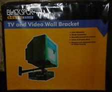 """Blackspur"" TV & VCR Wall Mount and attached Bracket (for CRT TV sets)"