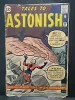 Tales To Astonish #36 Marvel Comics Oct 1962, 3rd App Ant-Man Kirby/Ditko GD