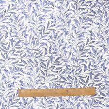 William MORRIS Willow comprarono Blu 100% cotone tessuto dal mezzo metro