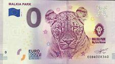 BILLET 0 EURO SOUVENIR  MALKIA PARK SLOVAQUIE 2019-1