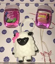 Bath Body Works Lambie Bow Light Up PocketBac hand sanitizer holder & Sanitizer