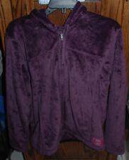 Large NWT Women's Life Is Good Plum Cozy  Zip Front Hoodie