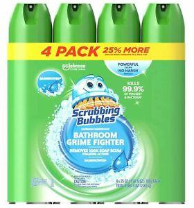 Scrubbing Bubbles Foaming Bathroom Cleaner - Rainshower Scent  (25 oz., 4 pk.)
