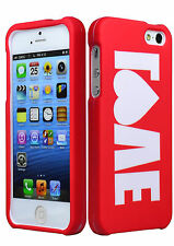 Red Mobile Phone Fitted Case for iPhone 5