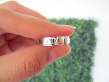 .10 Carat Diamond White Gold Mens Wedding Ring 14k WR161 sepvergara