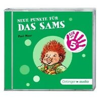 PAUL MAAR - NEUE PUNKTE FÜR DAS SAMS  CD HÖRBUCH/LESUNG KINDER NEU