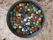Estate lot of Vintage OLD marbles  No Reserve