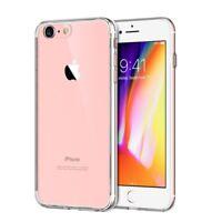 Handy Hülle für Apple iPhone 8 Ultra Dünn Bumper Schale Schutz Case Transparent