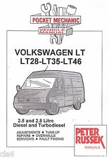 Volkswagen VW LT 28 35 46 2.5 2.8 Diesel Turbodiesel Pocket Mechanic Manual *NEW