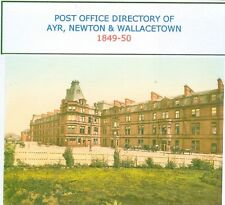 POST OFFICE DIRECTORY OF AYR 1849-50 CD ROM