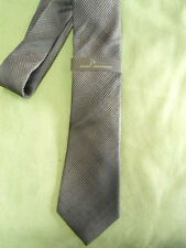 Mens Black Marc Anthony 100% Silk Dress Tie NEW Fashion Spinner