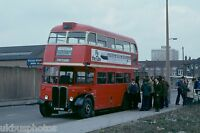 London Transport RT Finale 7th April 1979 RT KXW495 Bus Photo