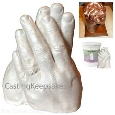 Luna Bean Keepsake Hands Diy Plaster Statue Casting Kit