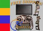 FrSky TARANIS RC FPV LCD Monitor mount adjustable 3D printed + D-ring 1/4 screw
