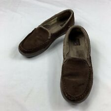 2a75c675dd3 Roxy Women s Fiona Slip On Shoes Slippers Brown Size 10