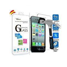 Protector pantalla movil cristal duro templado vidrio  iphone 4/4S Premium 9H