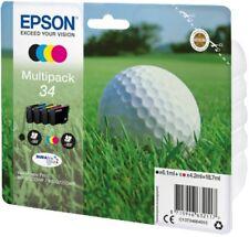 Genuine Epson 34 WorkForce Pro WF-3720DWF WF-3725DWF Ink Cartridges Multipack