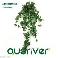 135cm Artifical Ivy Plant Lift Like Fake Garland Vine Bushy Silk Leaves Foliage