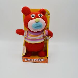 Sing-A-Ma-Jigs Mattel Red with Blue Mouth New in Box