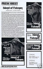 ISLAND OF THE FISHMEN Original Vintage Australian Movie Press Sheet Horror