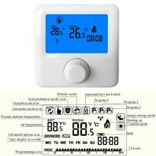 LCD Wall-hung Gas Boiler Thermostat Weekly Room Programmable Controller Heating