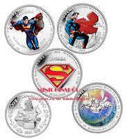 Canada 2013 75th Anniversary of Superman Pure Silver Coin Set