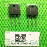 9 PAIRS Transistor SANKEN TO-3P 2SB1383/2SD2083 B1383/D2083
