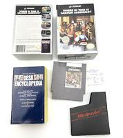 NES Nintendo Where in Time is Carmen Sandiego w/ Encyclopedia OG Box NO MANUAL