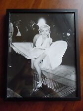 Marilyn Monroe Framed Photo The Seven Year Itch 1955 Famous White Dress