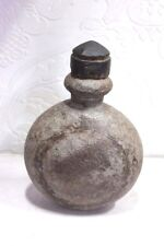 Iron Water Pot Old Vintage Indian Antique Rare Decorative Collectible PS-97