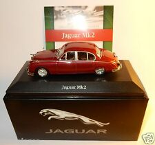 EDITIONS ATLAS JAGUAR MK2 XK6 1959 ROUGE FONCE 1/43 IN BOX + CERTIFICAT