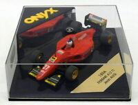 Onyx 1/43 Scale F1 Model Car 189A - Ferrari 412 T1 - Jean Alesi