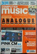 Computer Music UK Feb 2017 Instant Analog 31 Advanced Tutorials FREE SHIPPING sb