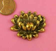 Lily Flower-1 Pc(s) Lovely Antique Brass Water