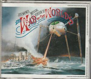 Jeff Wayne's Musical Version of WAR OF THE WORLDS  2CD (Columbia)
