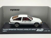 1:43 Kyosho Initial D Toyota Sprinter Trueno AE86 GT APEX Fujiwara Tofu Takumi