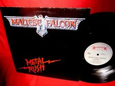 MALTESE FALCON Metal rush LP 1984 HOLLAND MINT-