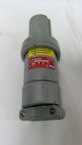 Appleton Electric Company Powertite Plug ACP1023CD Pin & Sleeve Clamp Ring 3P2W