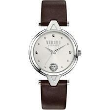 Versus by Versace  Women's  V Versus Watch Leather Brown Strap SCI07 0016  NWT