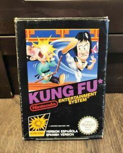 Nintendo Kung Fu NES PAL Versión Española