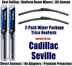 2pk Super-Premium NeoForm Wipers fit 1992-2004 Cadillac Seville - 16220x2