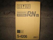 RISOGRAPH S4206 Black Toner OEM GENUINE INK CTG FOR USE IN RN 1000